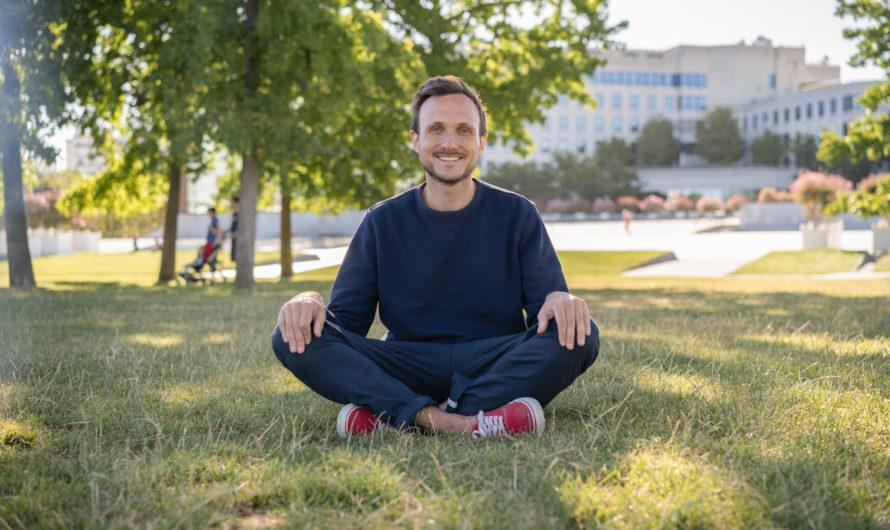 «La méditation m'a aidé à lâcher prise et à mieux dormir» Antoine Gerlier