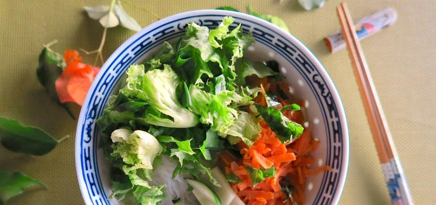 La recette du Bo Bun végétarien !