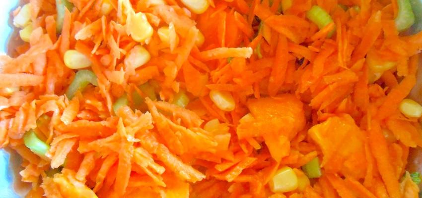 Recette carottes râpées pleines de surprises !