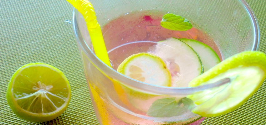recette eau detox