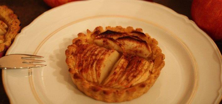 Tartelettes aux pommes d'Amandine (sans gluten)
